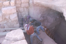 0529 TR24 Tael Ibrahim & Ali remove stone1