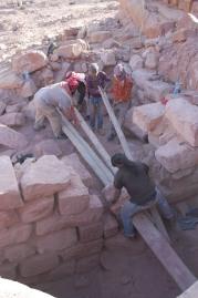 0529 TR24 John Dakhilallah Tael Ali & Ibrahim remove stone1